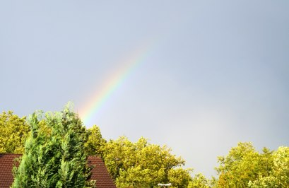 Zum Abschied gab es noch einen wundervollen Regenbogen!