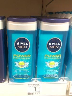 Nivea Duschgel, komme ich immer wieder drauf zurück. der Duft ist klasse!