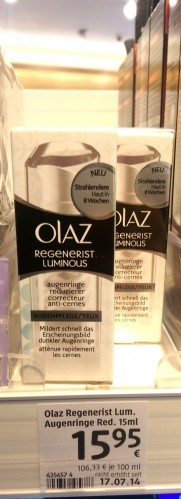 Ebenfalls gute Augenpflege, kümmert sich erfolgreich um Augenschatten!