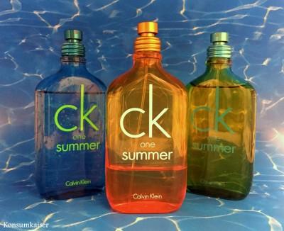 Meine letzten paar Flaschen CK Summer