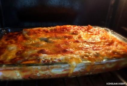 KK Lasagne im Ofen