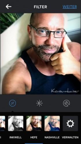 KK im Instagram Filter