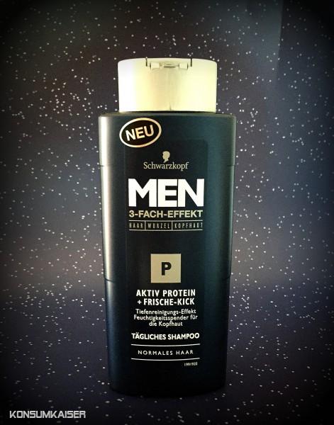 sanftes Shampoo für Männer