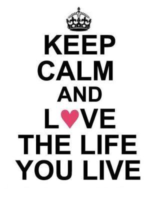 KK Keep calm