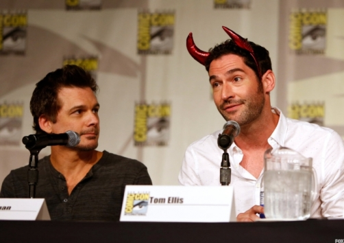 director-len-wiseman-and-cast-member-tom-ellis