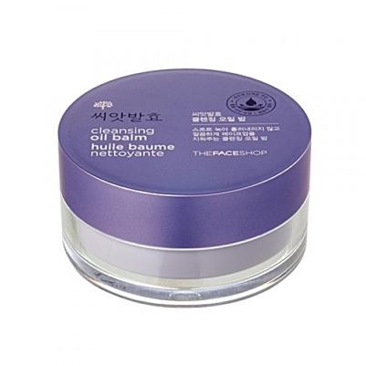 face shop cleansing oil balm