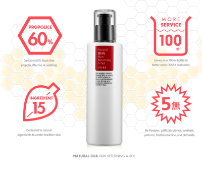 COSRX BHA Skin Returning A-Sol