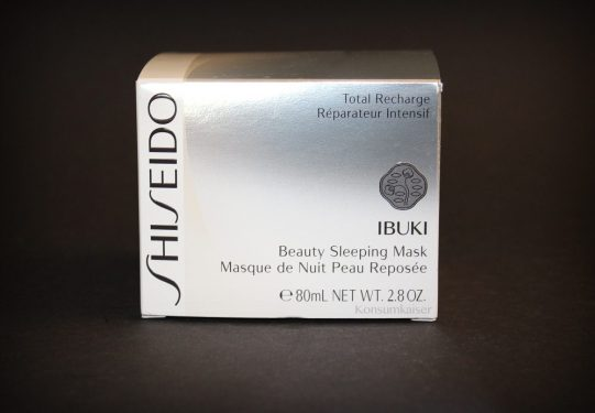 KK Shiseido Sleeping Mask2