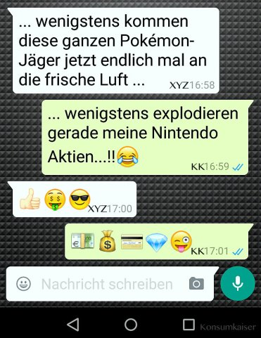 KK Whatsapp Talk Nintendo