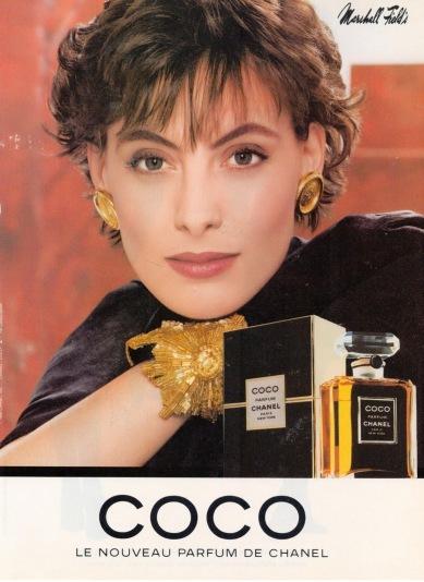 coco perfume ad ines