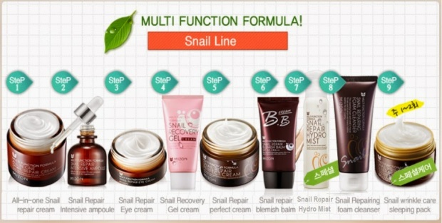 Mizon Snail Line Series