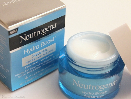 skincare neutrogena hydro boost creme gel lohnt. Black Bedroom Furniture Sets. Home Design Ideas