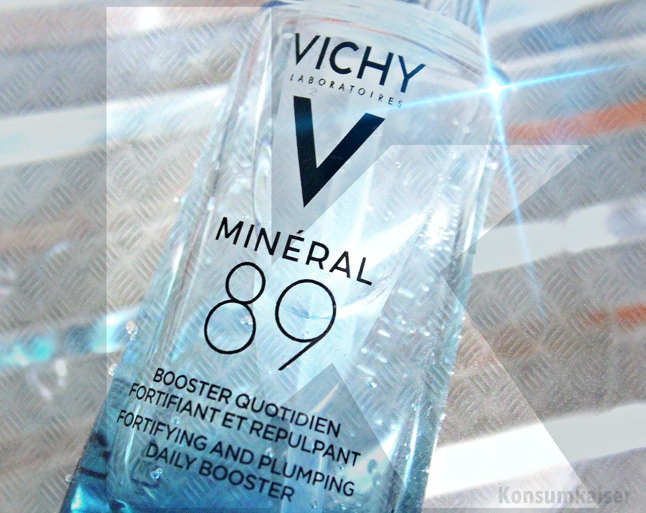 "SKINCARE: VICHY ""MINERAL 89"" * EIN (SEHR SIMPLER) HYALURONBOOSTER + ALTERNATIVE"